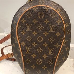 Lv Louis Vuitton Vintage Backpack